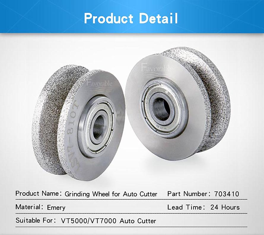 703410 Grinding wheel D.91 Grit 150 VT57 Q=10 For Lectra VT5000 VT7000-5