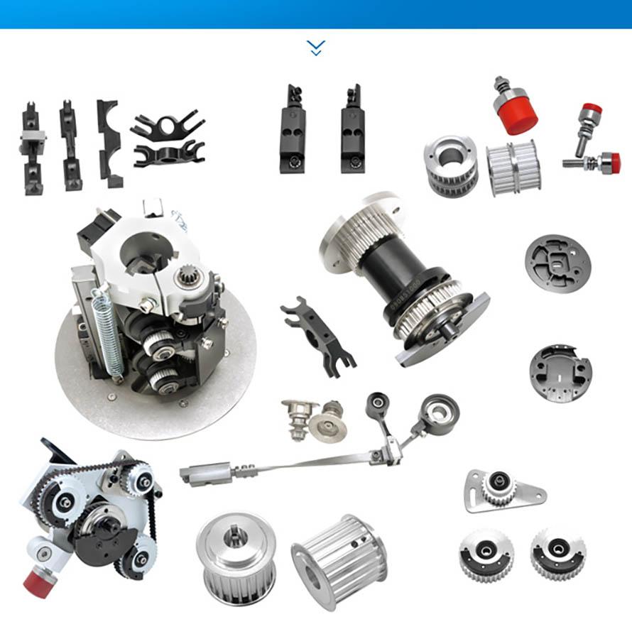 Assemble Arm Bushing Support For Gerber XLC7000 Z7 Parts4